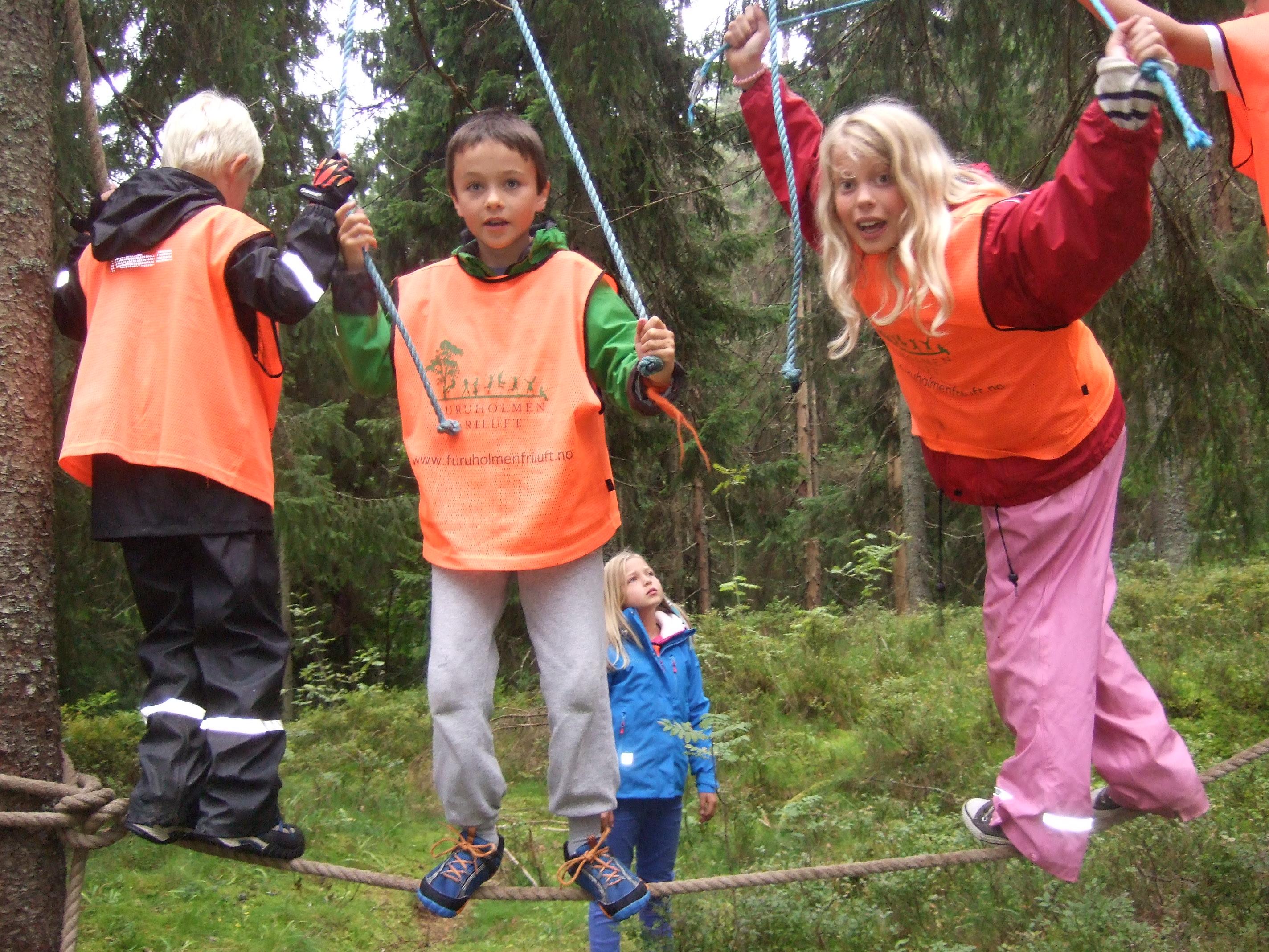 Friluftskole og Camp