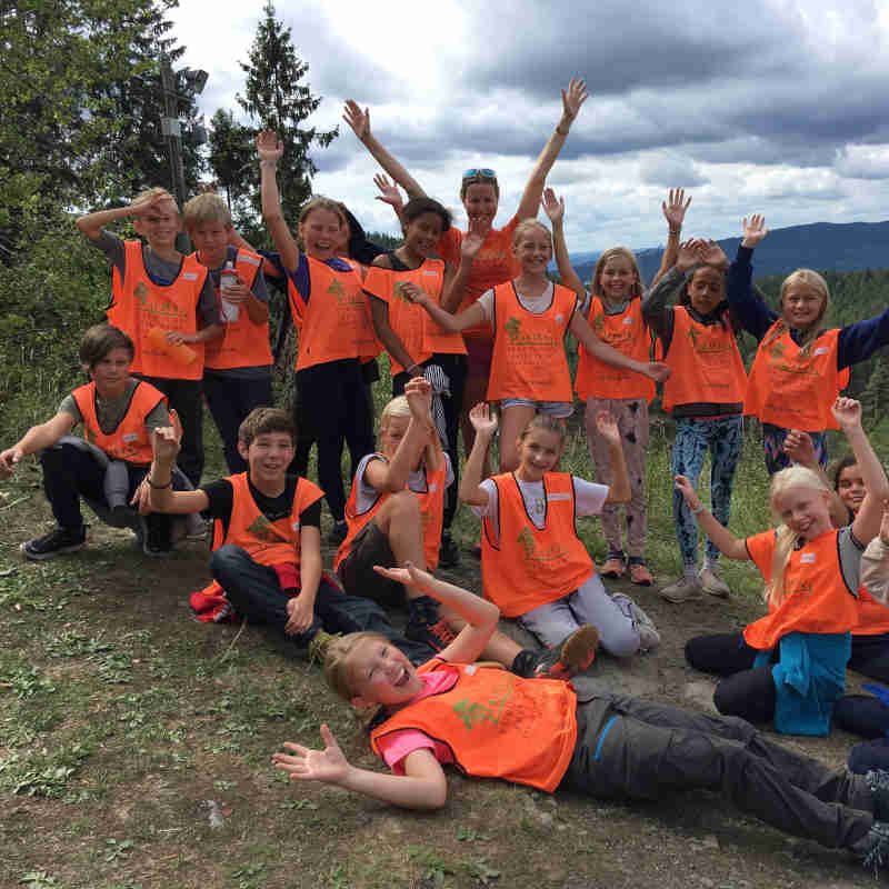 Barn på Høstcamp