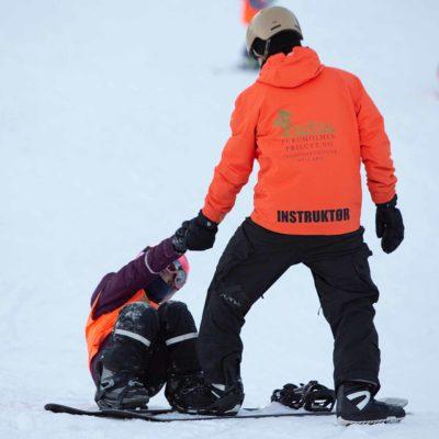 Snowboardkurs for barn