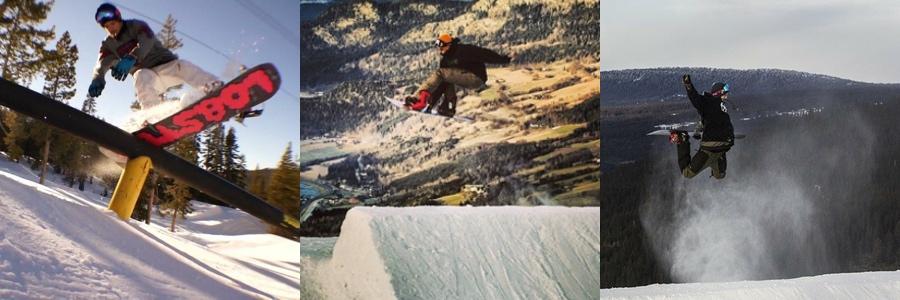 Meld deg på snowboardkurset TriX & Jibbing
